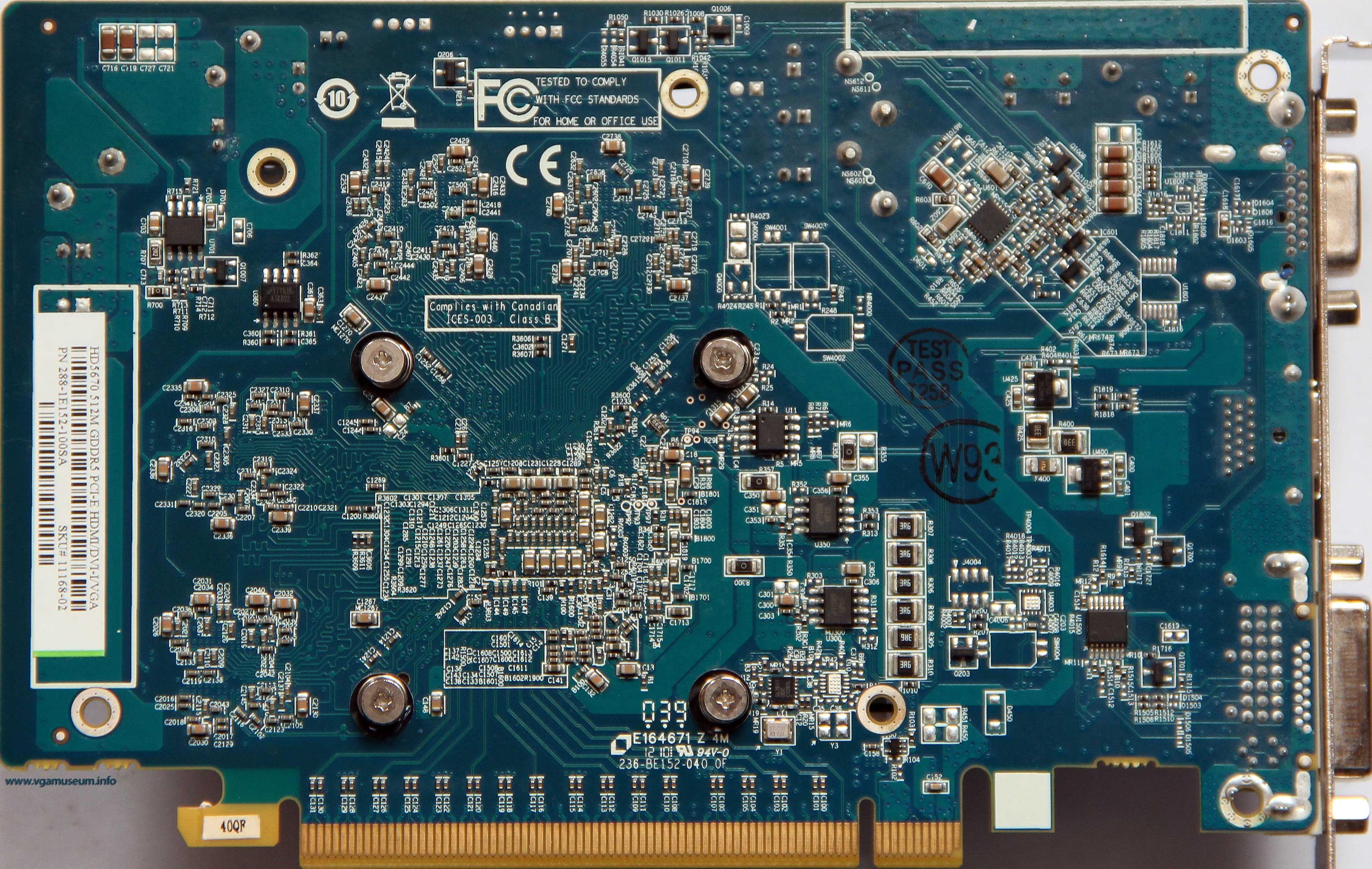 note: card underclock itself to 157/1200 or 400/3600 mhz gpu/mem